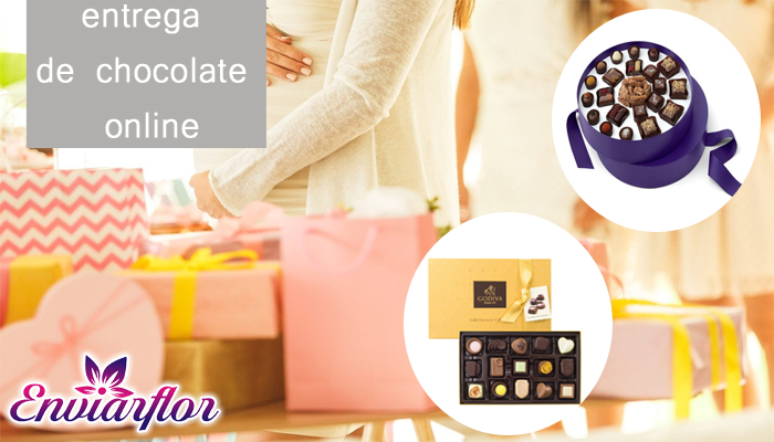 Enterga de refeicoes de chocolate online
